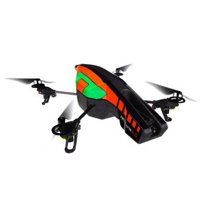 PF721000 AR.Drone 2.0 Quadricopter Orange/Green