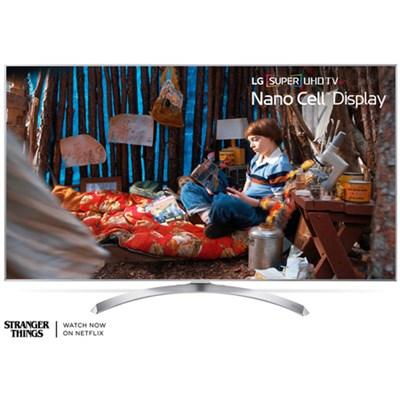 55SJ8000 55` HDR SUPER UHD Smart IPS LED TV (OPEN BOX)