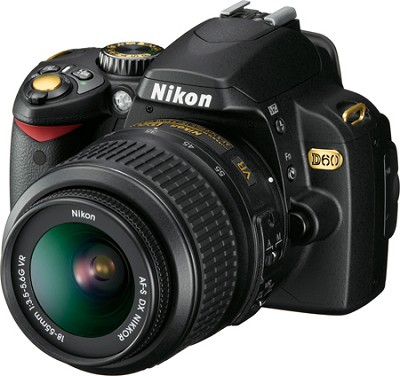 D60 Black Gold Special Edition Outfit with 18-55mm VR lens