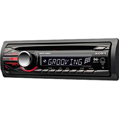 CDXGT250MP - Xplo-d In-Dash MP3/WMA/CD Receiver
