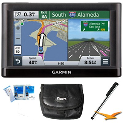 nuvi 56 Essential Series GPS Navigator 5` Display Plus Essentials Bundle