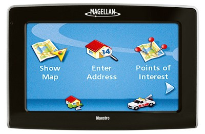 Maestro 4210 Portable Car GPS Navigation System