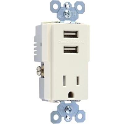 PS USB Tamper Resist Rcp Blk