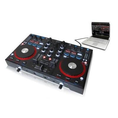 DMXU90C Professional USB DJ Mixer Controller with Audio Interface