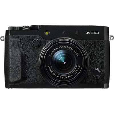 X30 HD 12MP 1080p Black Compact Digital Camera