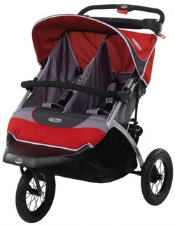 Suburban Safari Double jogging stroller