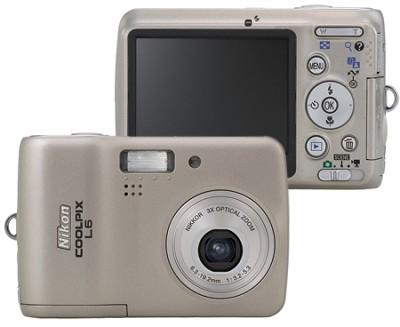 Coolpix L6 6MP Digital Camera