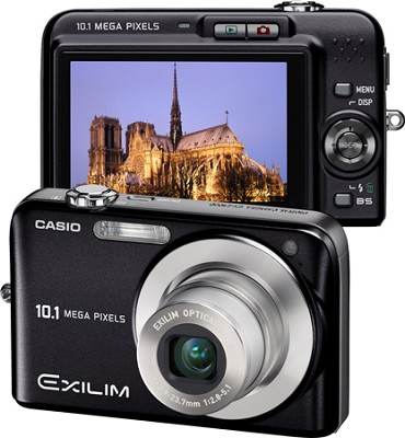 Exilim EX-Z1050 10MP Digital Camera with 2.6` LCD (Black)