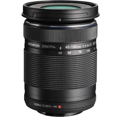 M. Zuiko 40-150mm f4.0-5.6 R Zoom Lens for Micro Four Thirds Cameras (Black)