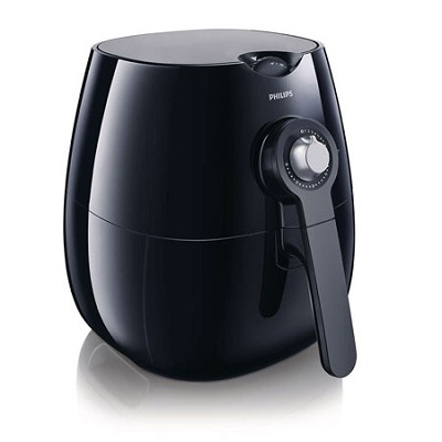 AirFryer with Rapid Air Technology, Black - HD9220/26 - OPEN BOX