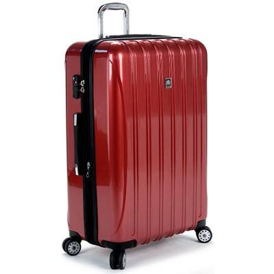 delsey helium aero 29 expandable spinner trolley brick red 07649rd. Black Bedroom Furniture Sets. Home Design Ideas
