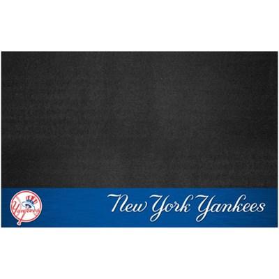 MLB New York Yankees Vinyl Heavy Duty Grill Mat