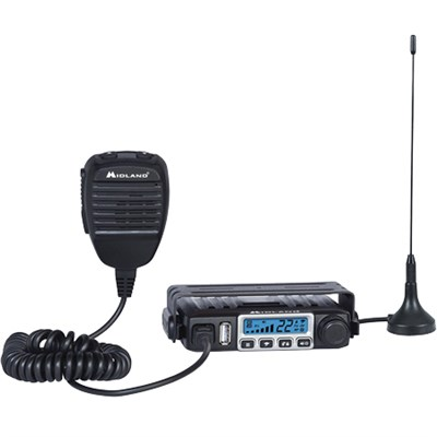 Consumer Radio MXT115 MicroMobile 15 W GMRS Radio with Weather