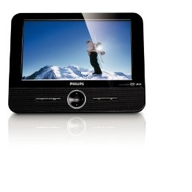 DCP851 8.5-Inch Portable DVD Player with Ipod Dock