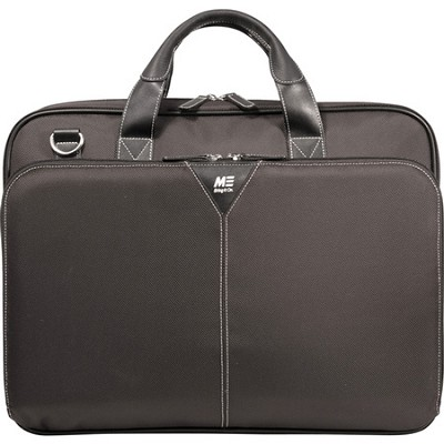 Select Ballistic Nylon 16` Black Laptop Briefcase