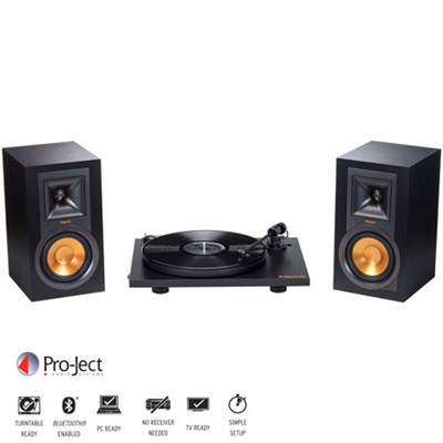 Powered Bluetooth Monitor Speakers +Turntable Bundle (R-15PM/#1062948)