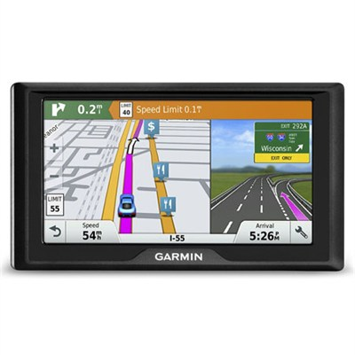 Garmin Drive 60LMT USA GPS Navigator with Lifetime Maps and Traffic - 010-01533-0B