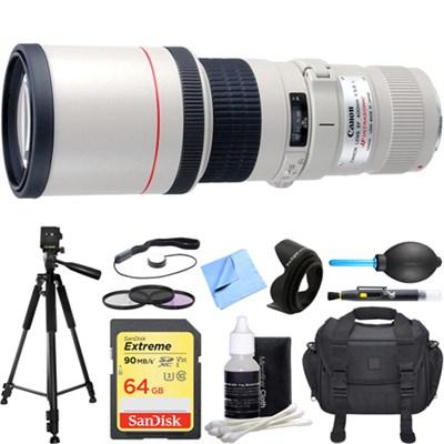 EF 400mm 5.6 L USM Lens Deluxe Accessory Bundle