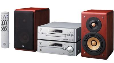EX-A10 Cherrywood Stereo System w/ Bi-Amplifying System