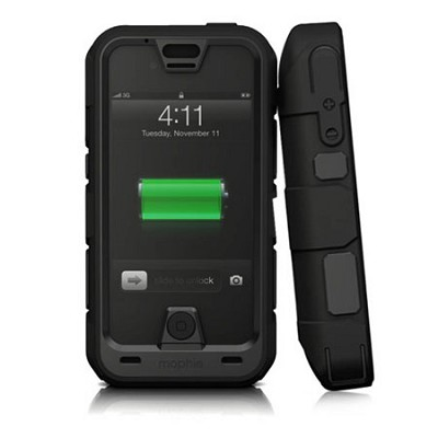 Juice Pack Pro for iPhone 5 Ruggedized Rechargeable External Battery Case