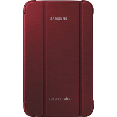 8-inch Book Cover for Galaxy Tab 3 - Red - OPEN BOX
