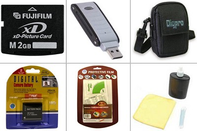 Bargain Accessory Kit for Finepix F20 and F40FD