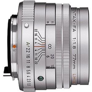 smc P-FA 77mm f/1.8 Limited Edition Silver Finish Telephoto Lens