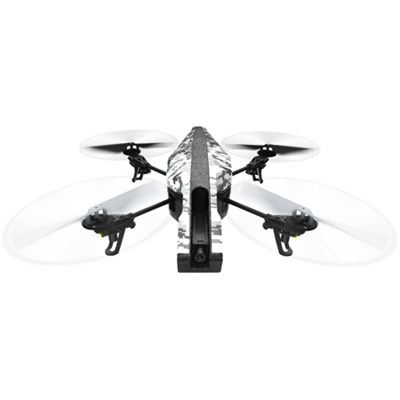 AR Drone 2.0 Elite Edition App Controlled Quadcopter (Snow) PF721801 - OPEN BOX