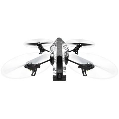 AR Drone 2.0 Elite Edition App Controlled Quadcopter (Snow) PF721801 - OPEN BOX