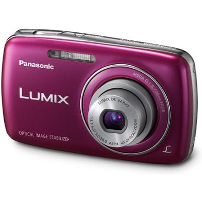 Lumix DMC-S3 14MP Compact Violet Digital Camera w/ 720p HD Video
