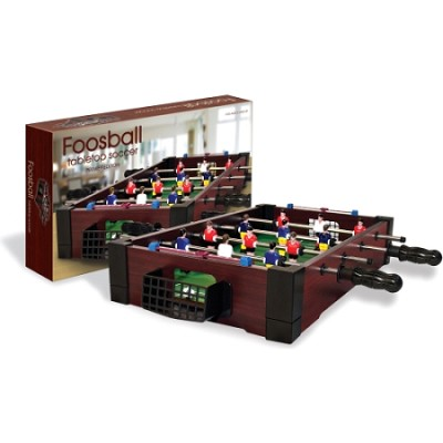 TableTop Premier Edition Burgundy '12-Man' Foosball/Soccer Game