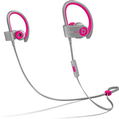Powerbeats 2 Wireless In-Ear Headphones -  Pink Grey
