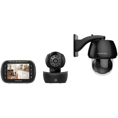 Scout2360 Wireless Pan/Tilt/Zoom Pet Monitor with 3.5-inch LCD Screen
