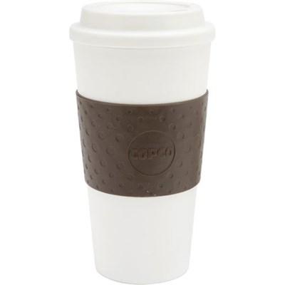Eco-First Acadia  16oz. Reusable To Go Mug, Brown