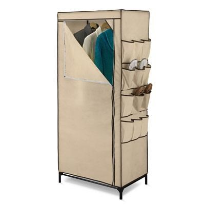 27` Storage Closet w Shoe Org