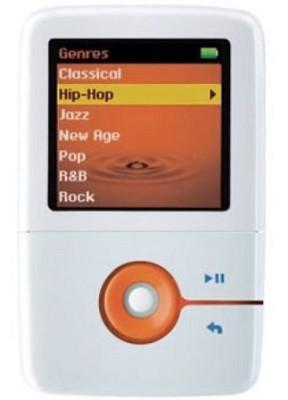 ZEN V 1GB MP3 Player - White/Orange