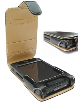 Slim Leather case for HP iPaq 4700 Series-Sensible gift only four on stock
