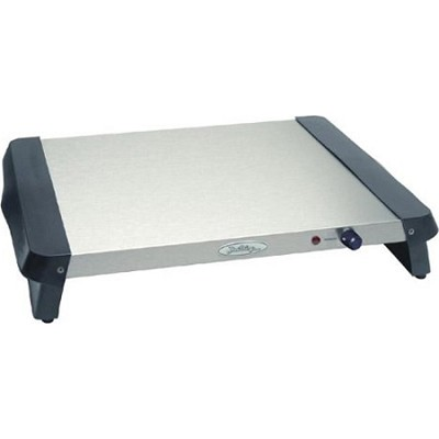 13.25x14-in. Professional Warming Tray, Stainless.