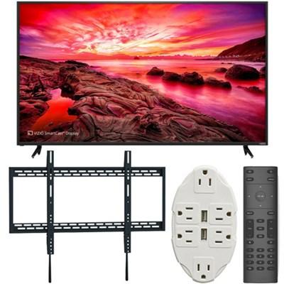 E80-E3 E-Series 80` LED SmartCast Ultra HDTV + Ultimate Wall Mount Accessory Kit