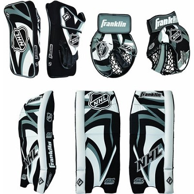 NHL SX COMP 100 Junior Street/Roller Hockey Goalie Protective Set - SM/MD