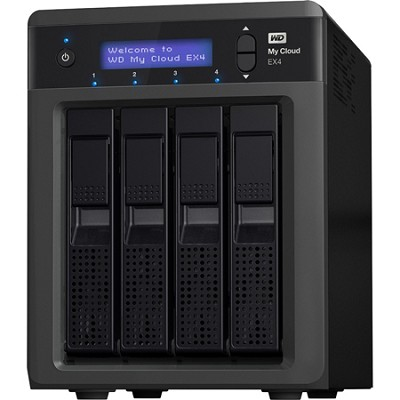 My Cloud EX4 16TB Personal Cloud Storage