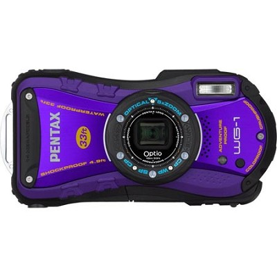 Optio WG-1 Waterproof Digital Camera - Purple