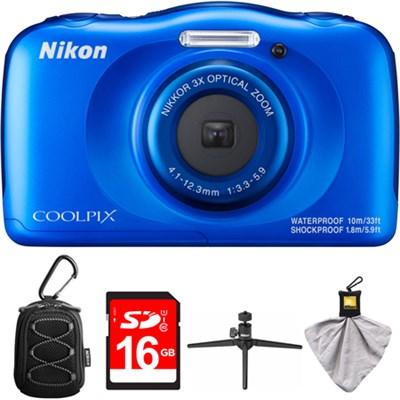 COOLPIX W100 Blue Kit 3