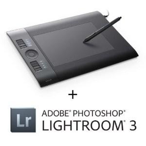 Intuos4 - Medium Pen Tablet + Adobe Photoshop Lightroom 3