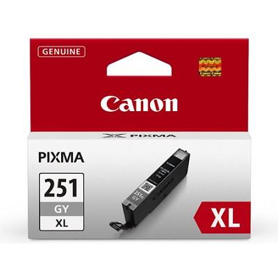 CLI-251 Gray XL Ink Tank for PIXMA iP7220, MG5420, MG6320 Printers