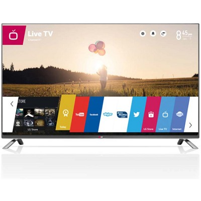 50LB6300 - 50-Inch 1080p 120Hz Direct LED Smart HDTV with WebOS - OPEN BOX