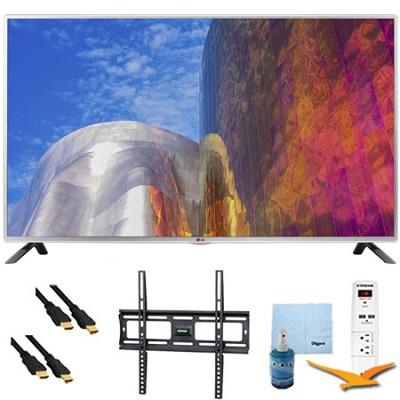 55LB5900 - 55-Inch Full HD 1080p 120hz LED HDTV Plus Mount & Hook-Up Bundle