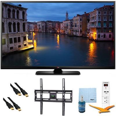 60PB6650 - 60` Full HD 1080p 600Hz Smart Plasma TV Plus Mount & Hook-Up Bundle