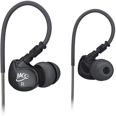 M6 Sports In-Ear Headphones (Black)