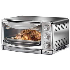 6 Slice Stainless Steel Toaster Oven